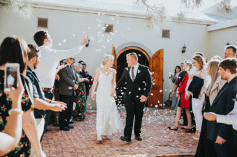 Du Von wedding near Robertson by photographer Kobus Tollig