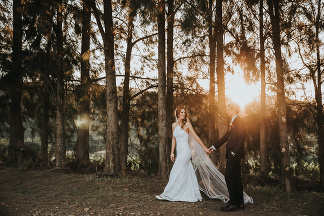 Stellenbosch wedding at Knorhoek by photographer Kobus Tollig