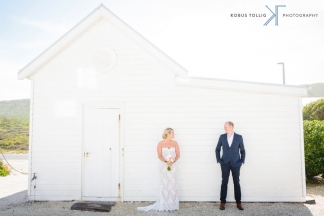 Yzerfontein wedding by Cape Town photographer Kobus Tollig
