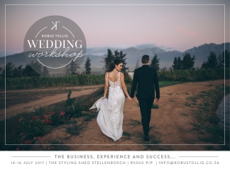 Cape Town wedding photography workshop by Kobus Tollig