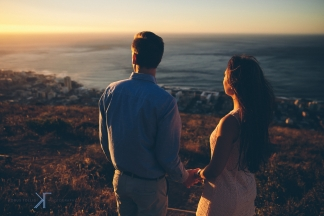 Cape Town engagement by photographer Kobus Tollig