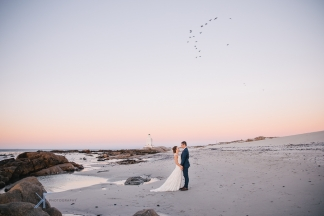 West Coast wedding at Sea Trader by photographer Kobus Tollig