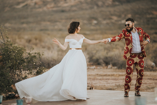 Bohemian wedding by photographer Kobus Tollig