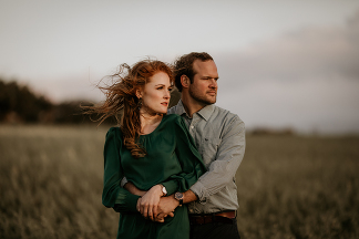 Overberg engagement by photographer Kobus Tollig